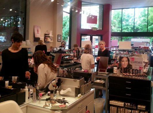 Blush Beauty Bar Beautypalooza9 Event, Portland Oregon