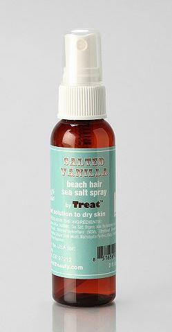 Treat Salted Vanilla Beach Hair Sea Salt Spray Urban Outfitters