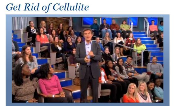 Dr. Oz How To Get Rid of Cellulite Video Clip