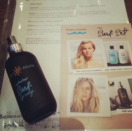 Bumble and Bumble Surf Spray at Moulagerie Trunk Show, Garnish Boutique Portland Oregon