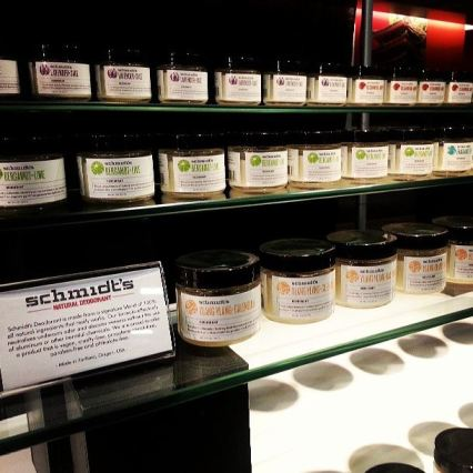 Schmdit's Natural Deodorants on Display at San Francisco International Gift Show