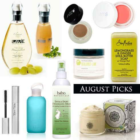 Organic Beauty Talk August Picks Schmidt's Deodorant