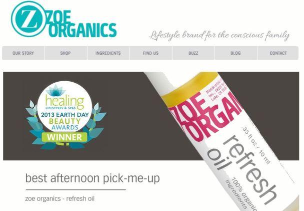 zoe organics 3