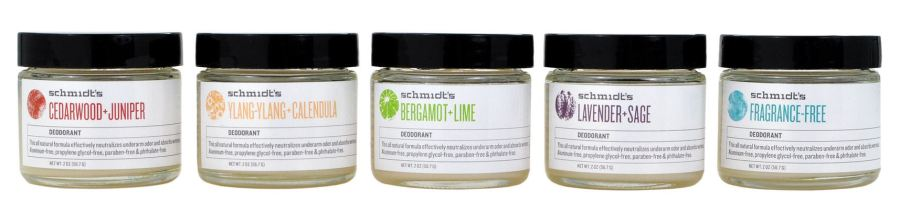 Schmidt's natural vegan deodorant now available at Urbanoutfitters.com