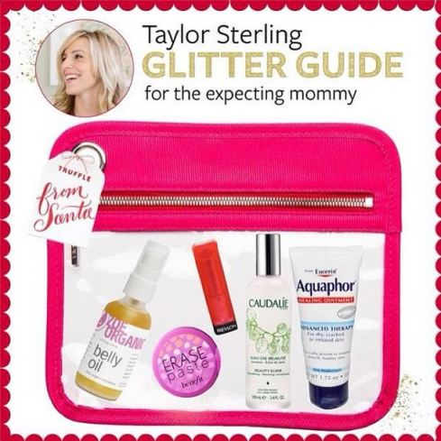 Taylor Sterling of Glitter Guide 5 Pregnancy Essentials Zoe Organics