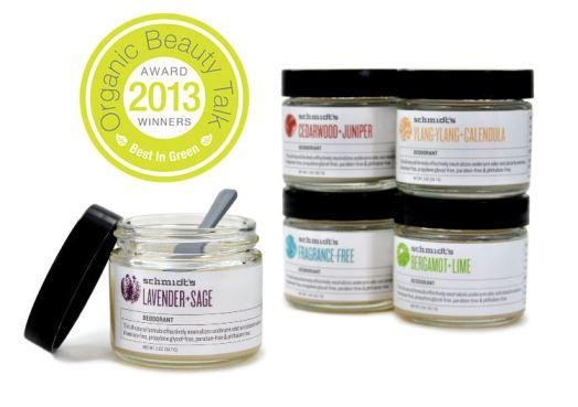 Best Natural Deodorant Award Winner Organic Beauty Talk