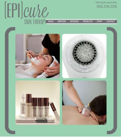Zoe Organics now available at Epicure Day Spa, Oxford MS