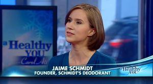 Jaime Schmidt Schmidt's Deodorant Carol Alt A Healthy You