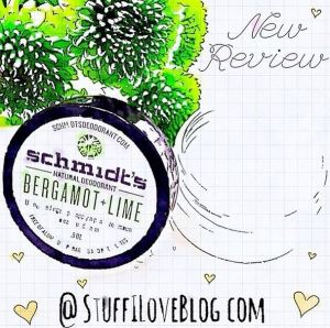 Stuff I Love Blog Reviews Schmidt's Natural Deodorant