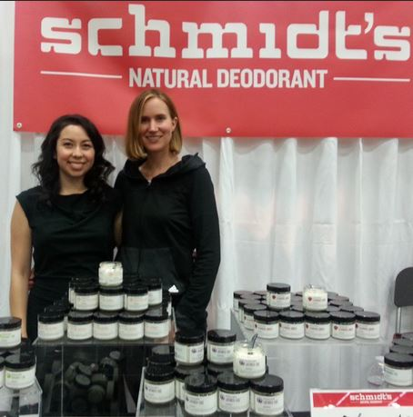 Mia Bell and Schmidt's Deodorant CEO Jaime Schmidt. Image credit: @missmiabell on Instagram